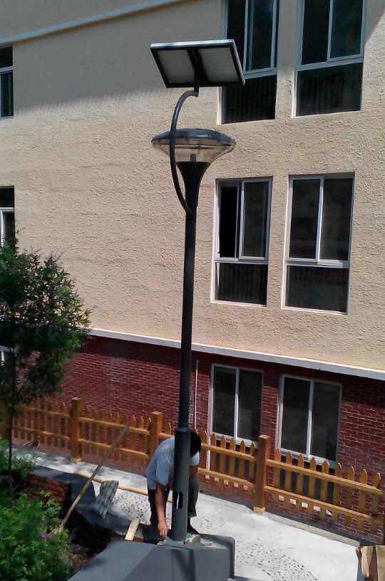 太阳能庭院灯亮化系列案例