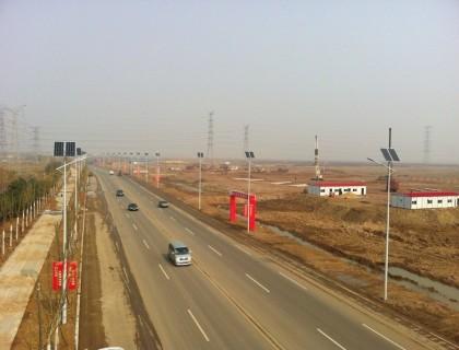 运城太阳能路灯亮化工程